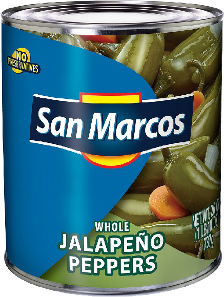 San Marcos Whole Jalapenos