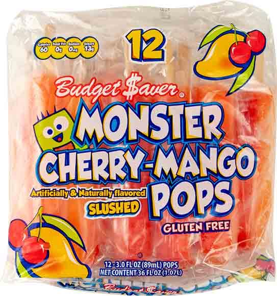 Budget $aver Monster Pops