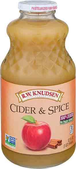 R.W. Knudsen Cider & Spice