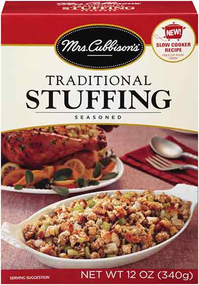 Mrs. Cubbison's Stuffing