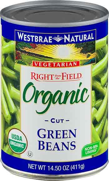 Westbrae Canned Vegetables