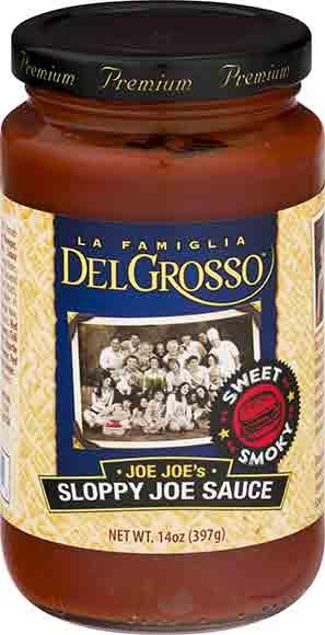 DelGrosso Sloppy Joe Sauce