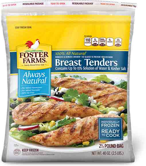 Foster Farms Boneless Skinless Chicken Breasts
