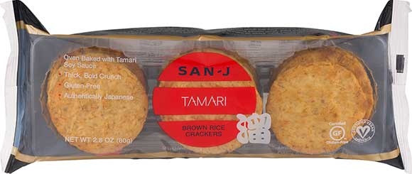 San J Brown Rice Crackers