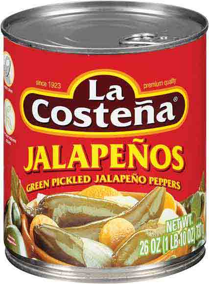 La Costeña Whole Pickled Jalapeños