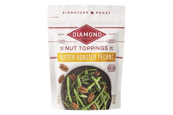 Diamond Nut Toppers