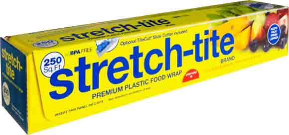 Stretch-Tite Plastic FoodWrap