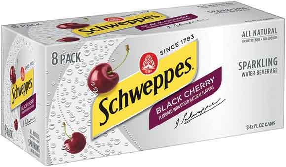 Schweppes 8-Pack Sparkling Water