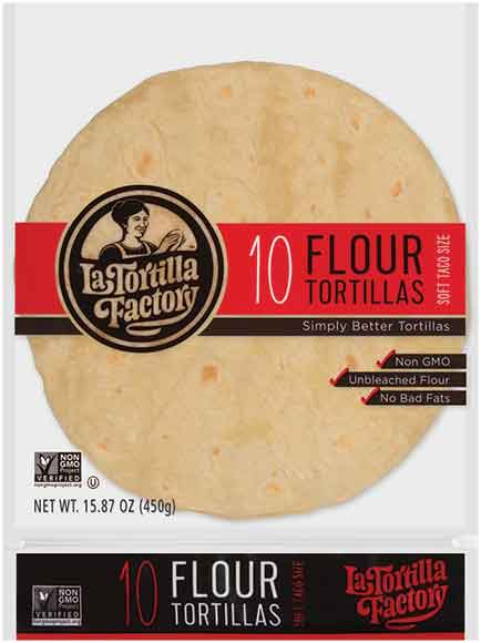 La Tortilla Factory Soft Taco Tortillas