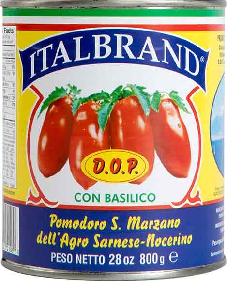 Italbrand Pomodoro San Marzano Tomatoes