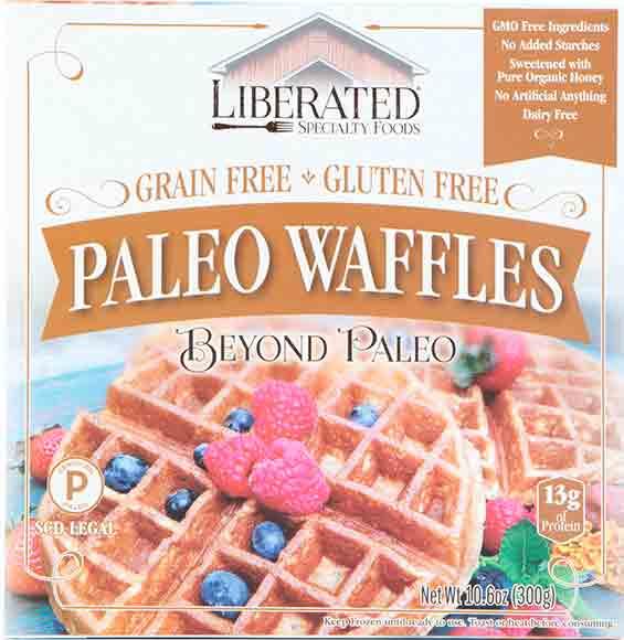 Liberated Paleo Waffles