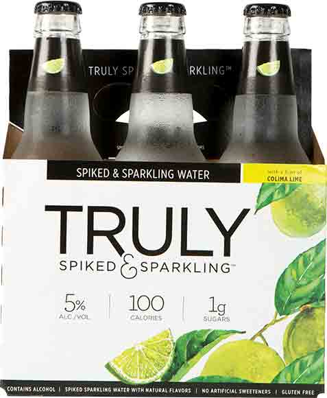 Truly Spiked And Sparkling Colima Lime