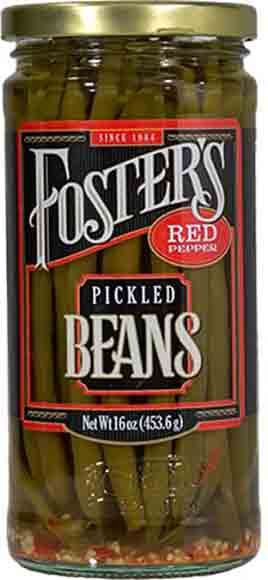 Foster's Pickled Carrots or Green Beans