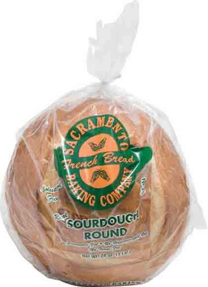Sacramento Baking Co. Sourdough Sliced Round