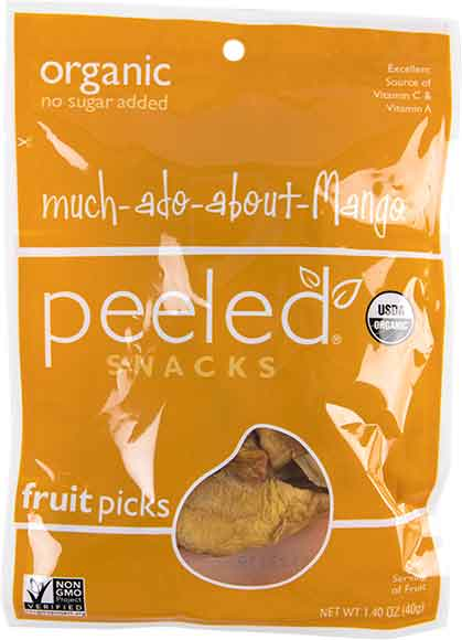 Peeled Snacks Organic Dried Mango