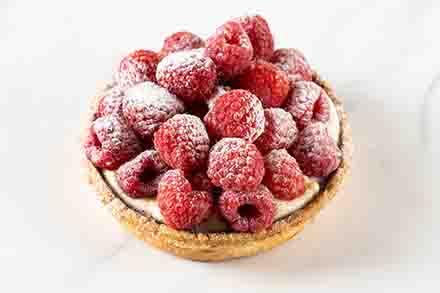 Fresh Raspberry Tartlet 4