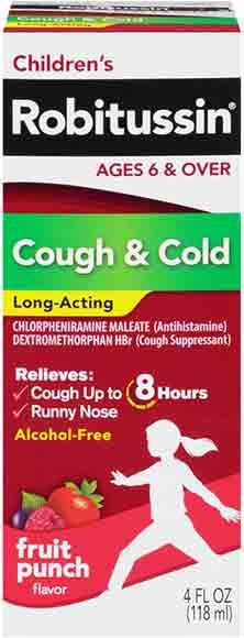 Robitussin Cough & Cold Medicine
