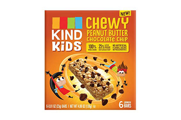KIND Kids Chewy or Nut Butter Filled Bars