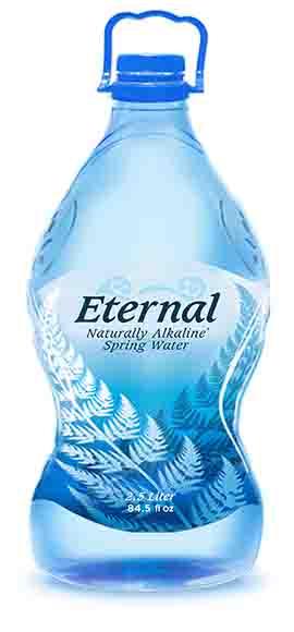Eternal Natural Alkaline Spring Water