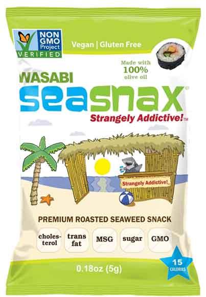 Seasnax Grab and Go Snacks