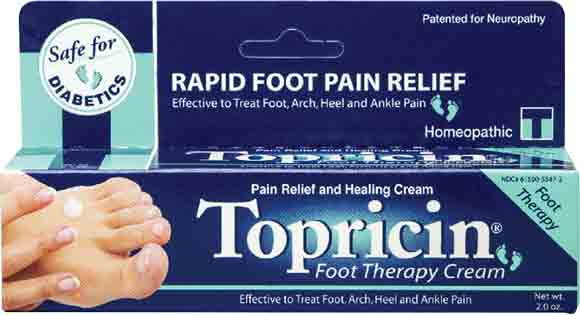 Topricin Pain Relief Cream or Foot Therapy