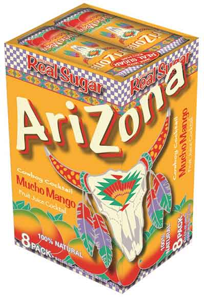 AriZona Tea 8 or 12-Packs