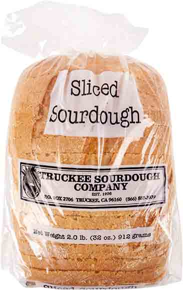 Truckee Sourdough Company Sliced Sourdough