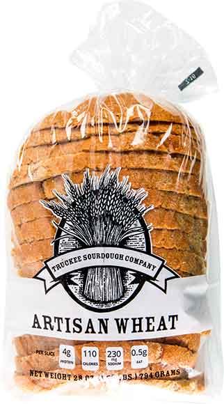 Truckee Sourdough Company Artisan Sliced Bread