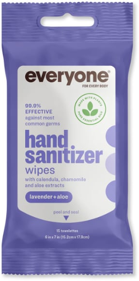 Everyone Hand Sanitizer Wipes
