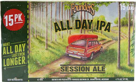 Founders Brewing 15-Packs