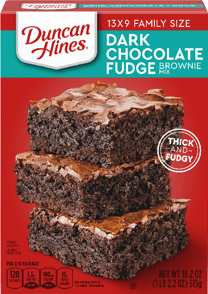 Duncan Hines Brownie Mixes