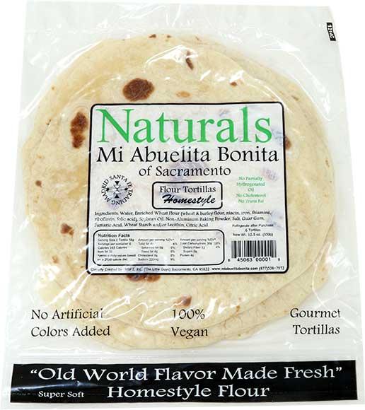 Mi Abuelita Bonita Flour Tortillas