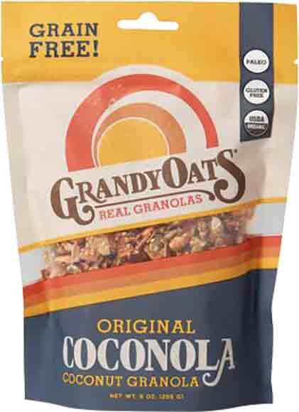 Grandy Oat's Organic Granola