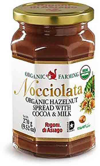 Rigoni Organic Hazelnut Spread