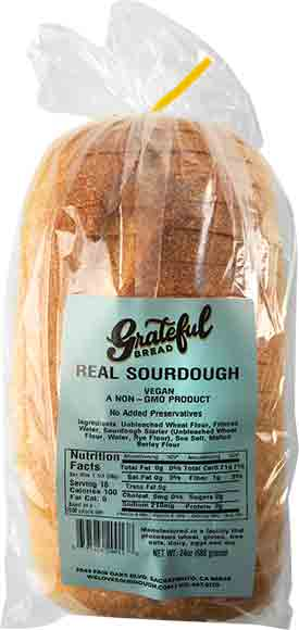 Grateful Real Sourdough Bread