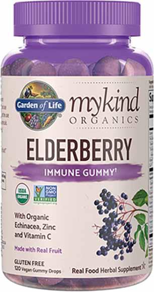 Garden of Life Mykind Elderberry Gummies