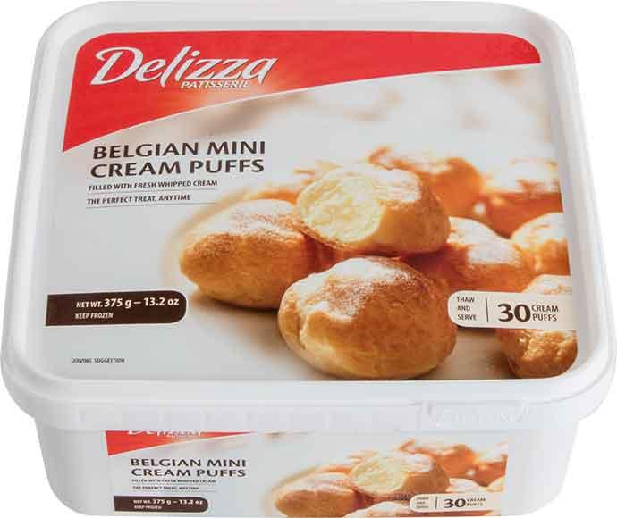 Delizza Cream Puffs or Mini Eclairs