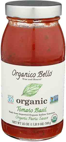 Organico Bello Organic PastaSauce