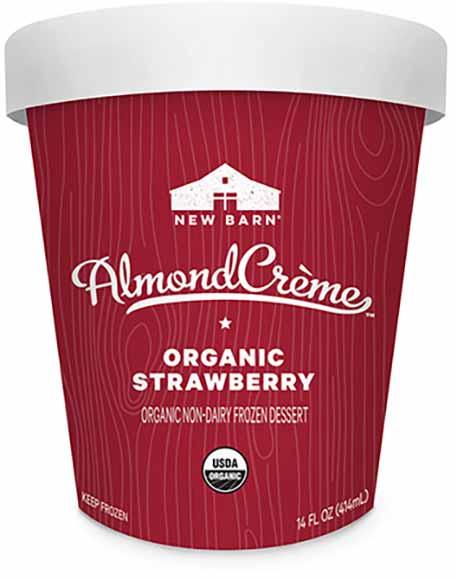 New Barn Almond Ice Cream