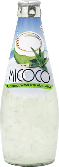 MiCoco Coconut Juice with Aloe or Pulp