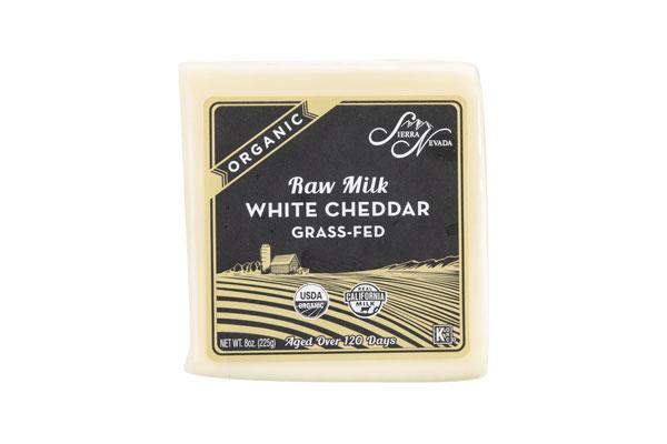 Organic Raw White Cheddar