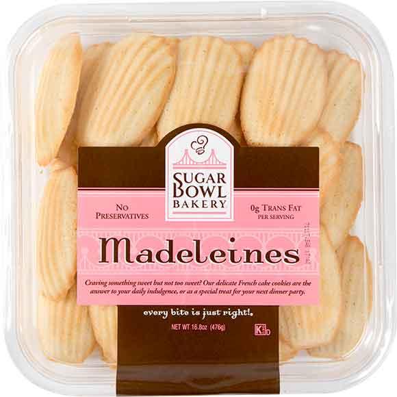 Sugar Bowl Bakery Brownie Bites, Madeleines or Palmiers