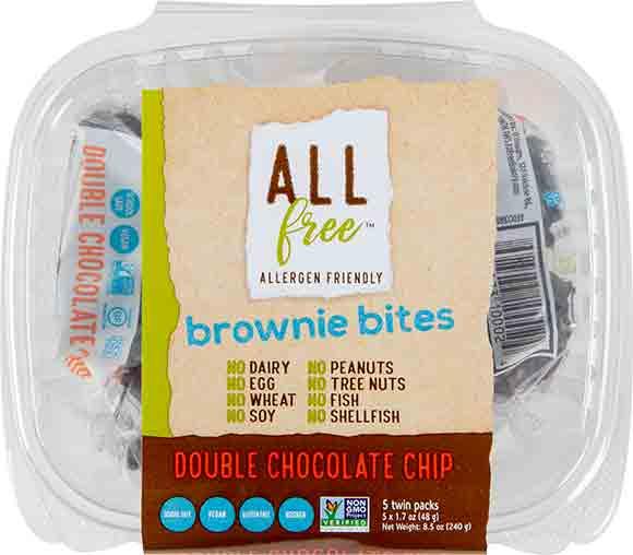 All Free Brownie Bites