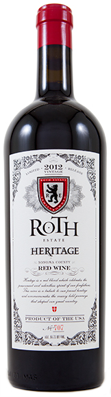 Roth Heritage Red Wine