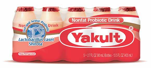 Yakult Probiotic Beverages