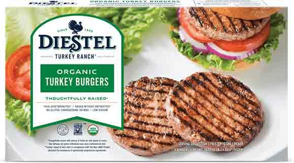 Diestel Organic TurkeyBurgers