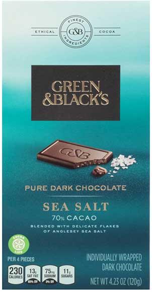 Green & Black's Chocolate Squares