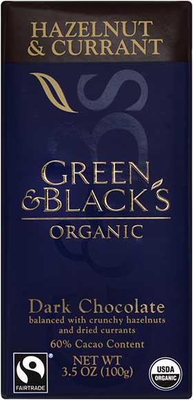 Green & Black's Chocolate Bars