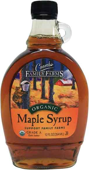Coombs Organic Syrup