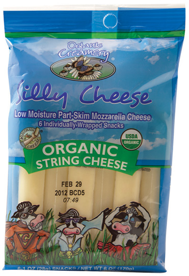 Organic Creamery Silly String Cheese
